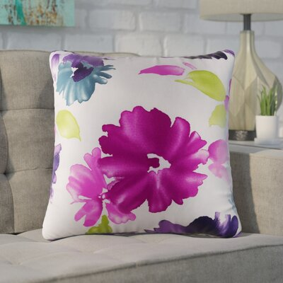 Brott 100% Cotton Throw Pillow Color: Fuchsia