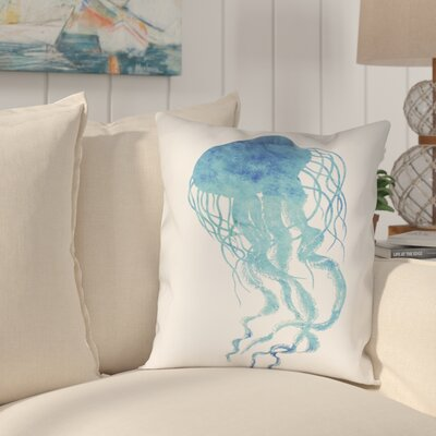 Colgate Jellyfish Outdoor Throw Pillow