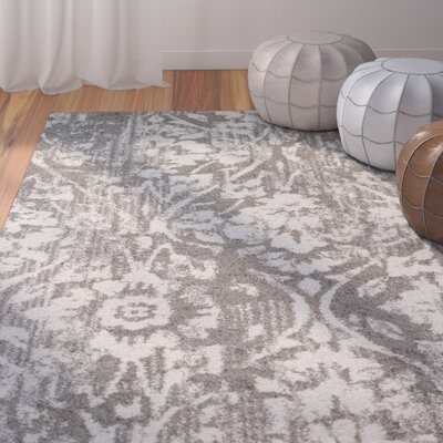Hansley Steel Area Rug Rug Size: Rectangle 33 x 51
