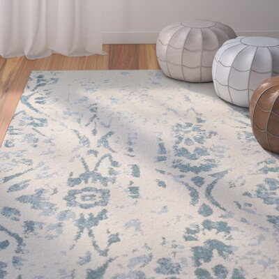 Hansley Navy Area Rug Rug Size: Rectangle 411 x 7