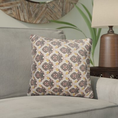 Ginnia Indoor/Outdoor Throw Pillow Size: 16
