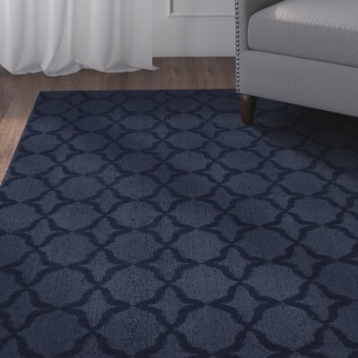 Southington Navy Area Rug Rug Size: Rectangle 6 x 9