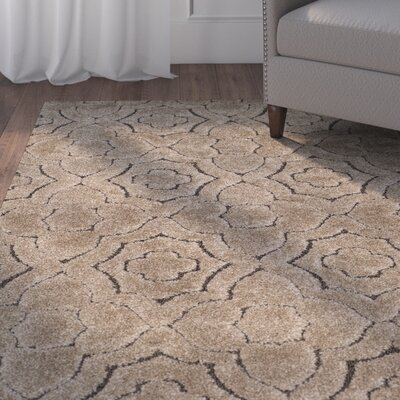 Stonybrook Brown Area Rug Rug Size: Rectangle 9 x 12