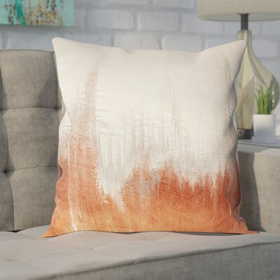 Bledsoe Throw Pillow Color: Orange