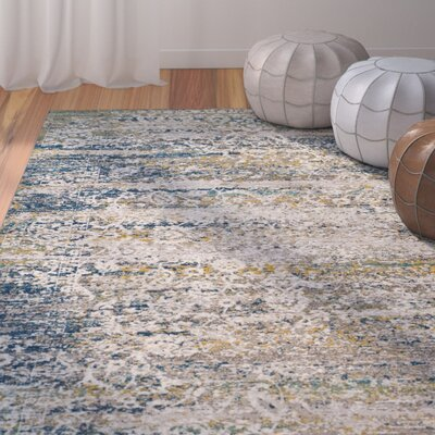Andy Cream Area Rug Rug Size: Rectangle 8 x 10