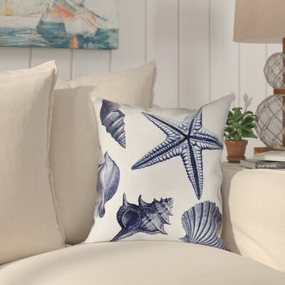 Arlington Shell Toss Outdoor Throw Pillow Size: 18 x 18