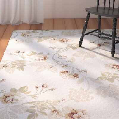 Audie Lily Synthetic Tan Area Rug