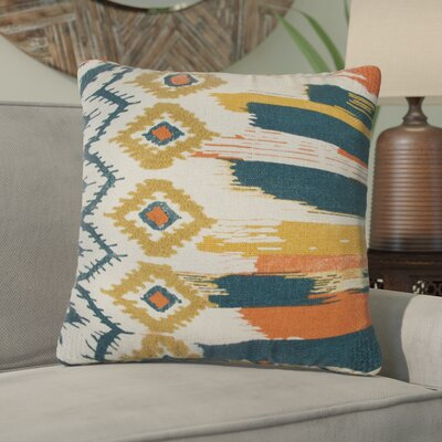Bratton Decorative 100% Cotton Throw Pillow