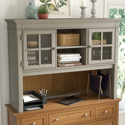 Mason Desk Hutch Finish: Taupe