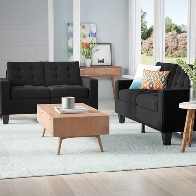 Burcet 2 Piece Living Room Set