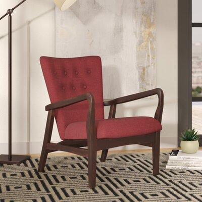 Galen Armchair Upholstery: Deep Red