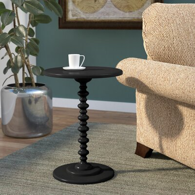 Segera End Table Color: Black