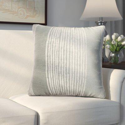 Longview Stripe Decorative Throw Pillow Color: Spa