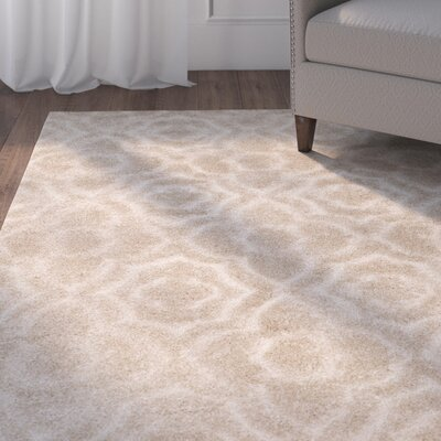 Stonybrook Beige Area Rug Rug Size: Rectangle 4 x 6