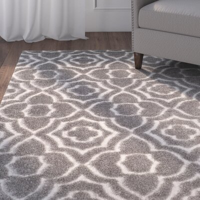 Stonybrook Gray Area Rug Rug Size: Rectangle 8 x 10