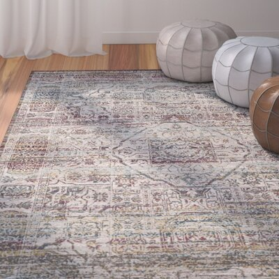 Andy Red Area Rug Rug Size: Rectangle 8 x 10