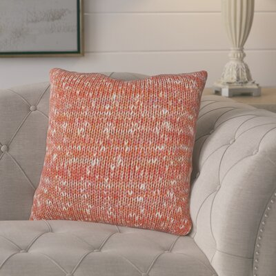 Joyce Knit 100% Cotton Throw Pillow