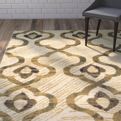 Widman Cream Area Rug Rug Size: Rectangle 5 x 8