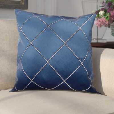 Parramore Decorative Throw Pillow Color: Navy