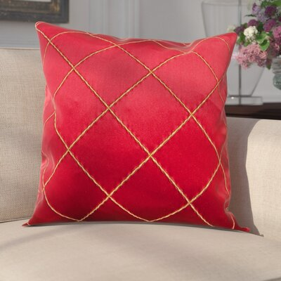 Parramore Decorative Throw Pillow Color: Merlot