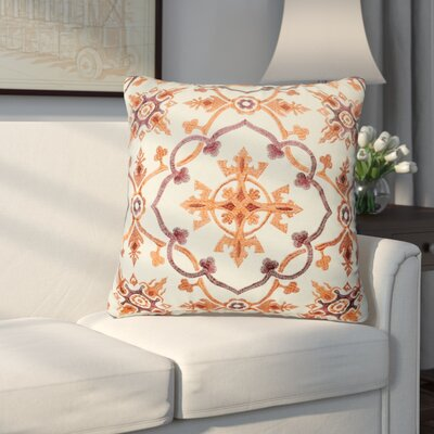Walworth Decorative Throw Pillow Color: Orange