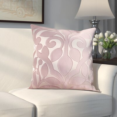 Evergreen Decorative Throw Pillow Color: Liliac