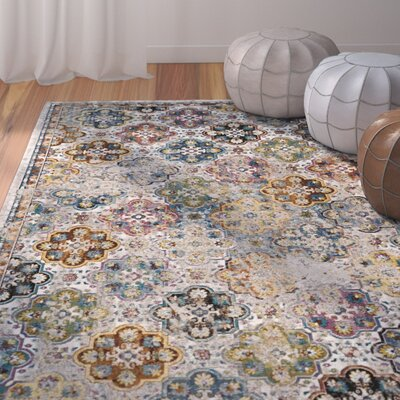 Andy Beige Area Rug Rug Size: Rectangle 8 x 10