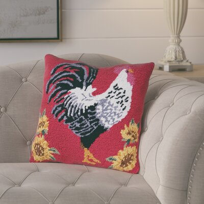 Izzo Parisian Rooster Throw Pillow