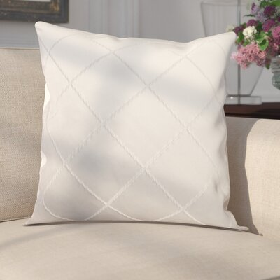 Parramore Decorative Throw Pillow Color: White