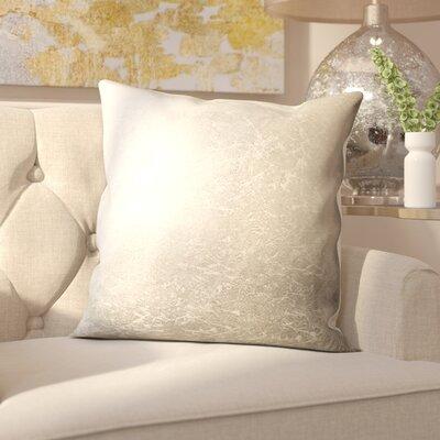 Barela Silver Throw Pillow