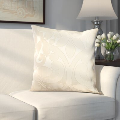 Evergreen Decorative Throw Pillow Color: Pearl