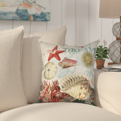 Camden Outdoor Throw Pillow Size: 18 x 18
