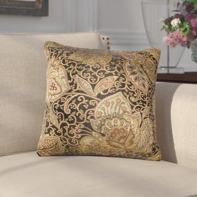 Sweetbriar Golden Scrolls Cotton Throw Pillow ATGD7248 40811642