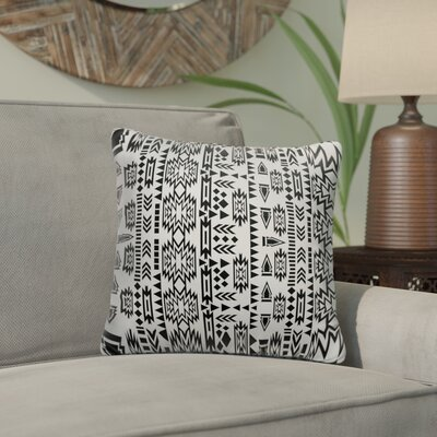 Glenaire Outdoor Throw Pillow Size: 18 x 18