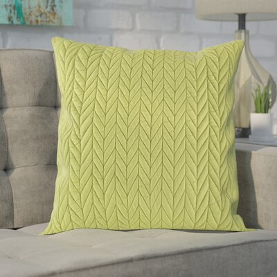 Brott Throw Pillow Color: Moss