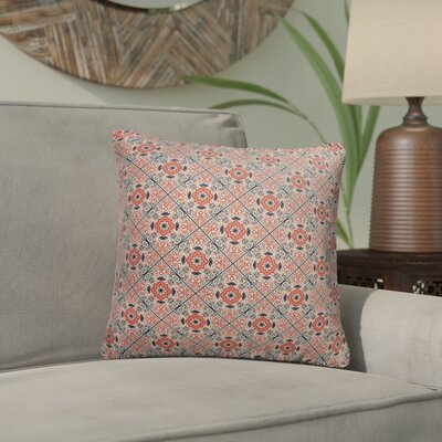 Glenoe Indoor/Outdoor Throw Pillow Size: 18 x 18