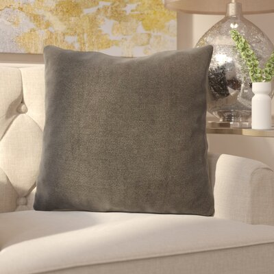 Ermont Decorative Throw Pillow Set Color: Charcoal