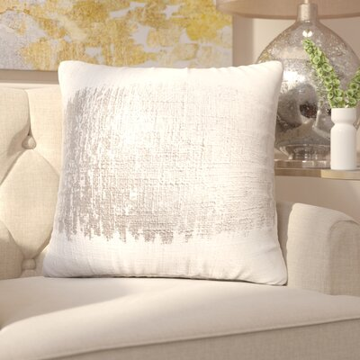 Boughner Decorative Throw Pillow Color: Silver