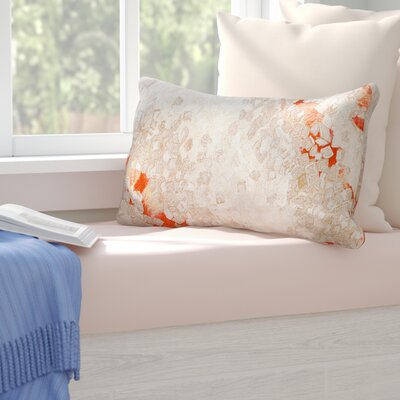 Coalton Indoor/Outdoor Lumbar Pillow Color: Orange