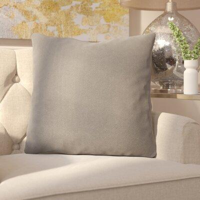 Ermont Decorative Throw Pillow Set Color: Light Gray