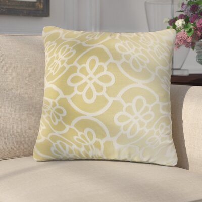 Chaplain Geometric Throw Pillow Cover Color: Almond