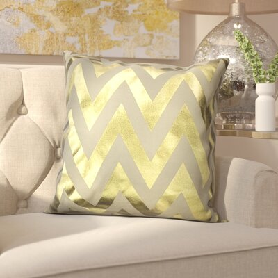 Arthurs Decorative Throw Pillow Color: Gold
