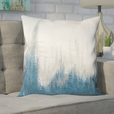 Bledsoe Throw Pillow Color: Teal