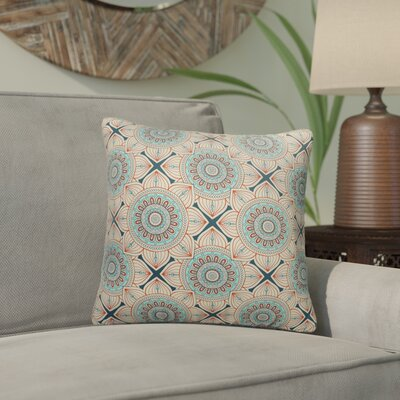Galleria Bloom Outdoor Throw Pillow Size: 18