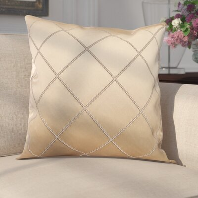 Parramore Decorative Throw Pillow Color: Champagne