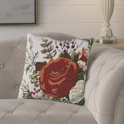 Anmoore Rouge Throw Pillow