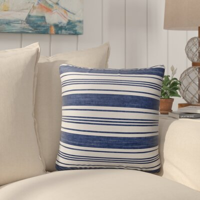 Pinehurst Burlap Striped Indoor/Outdoor Throw Pillow Size: 18 H x 18 W x 5 D