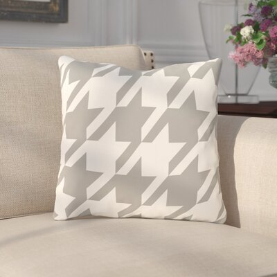 Bryant Geometric Outdoor Throw Pillow Color: Gray