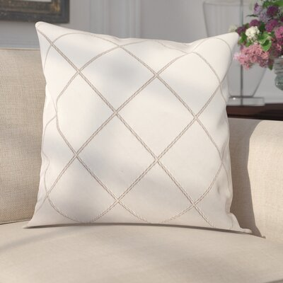 Parramore Decorative Throw Pillow Color: Silver