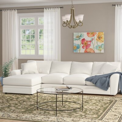 Edwin Sectional Upholstery: Conversation Cinder, Orientation: Left Hand Facing